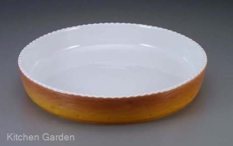 ロイヤル 丸型グラタン皿 カラー PC300-40-7 .【丸型グラタン皿】