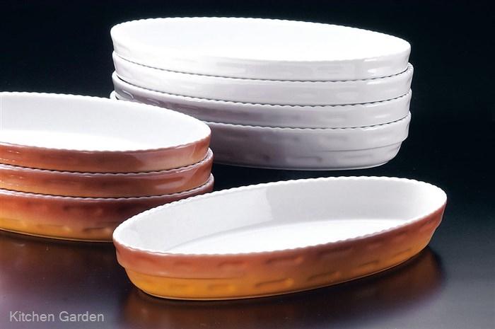 ロイヤル スタッキング 小判グラタン皿 カラー PC240-48 .【小判型グラタン皿・オーバル型グラタン皿】