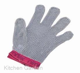 ニロフレックス メッシュ手袋5本指 M M5(赤)