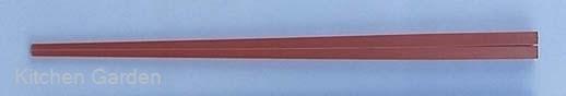 ニューエコレン中華箸 ノーマル 23cm レッド(50膳入)