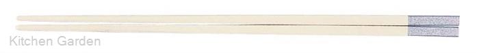 PBT和洋中角箸 シルバー(10膳入り) 白 85915550