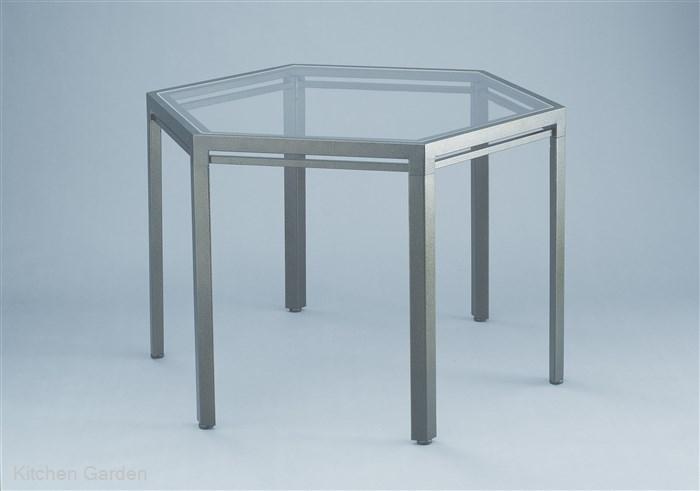 ブッフェテーブル ハンマーシルバー AGC-6T400