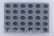 デバイヤーエラストモール 1830-60 オーバル型 30ヶ取 .【業務用調理用品のキッチンガーデン ~飲食店舗用品・厨房用品専門店~】