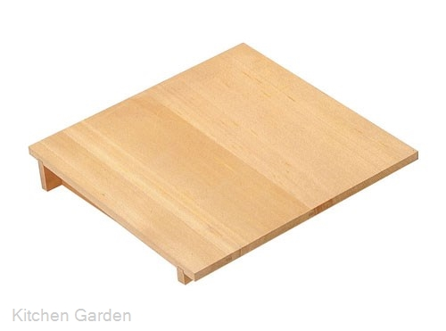 【部品商品】 木製 角セイロ用 傾斜蓋(サワラ材) 39cm用 .【せいろ蒸し器用蓋】