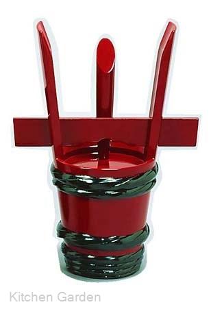 漆朱塗祝儀桶24cm
