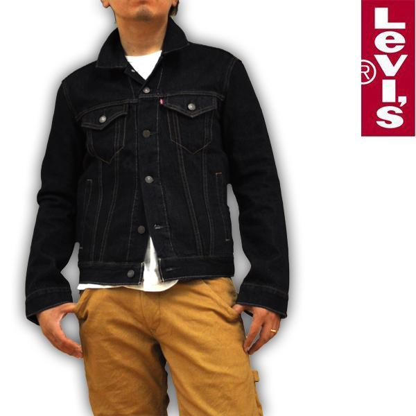 リーバイス Levi's デニムジャケット Gジャン ワンウォッシュ 72334-0134 RED TAB メンズ