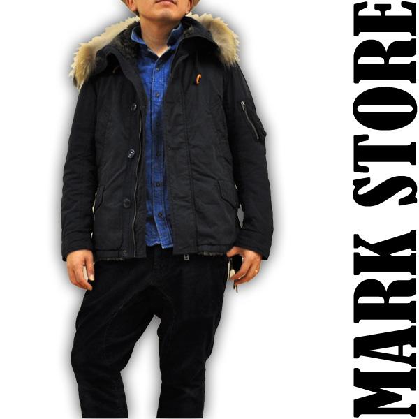 マークストア MARK STORE N3-B ショートフードジャケット ミリタリージャケット 8004-47402 3 メンズ