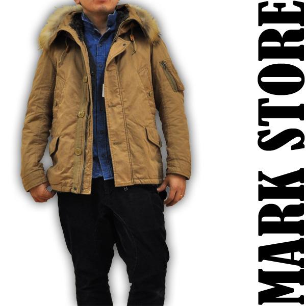 マークストア MARK STORE N3-B ショートフードジャケット ミリタリージャケット 8004-47402 1 メンズ