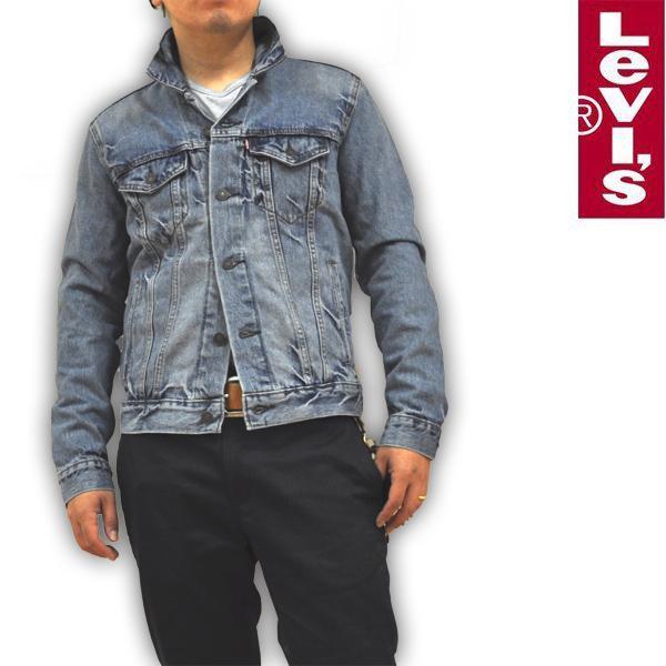 リーバイス Levi's デニムジャケット Gジャン ブリーチウォッシュ 72334-0139 RED TAB メンズ