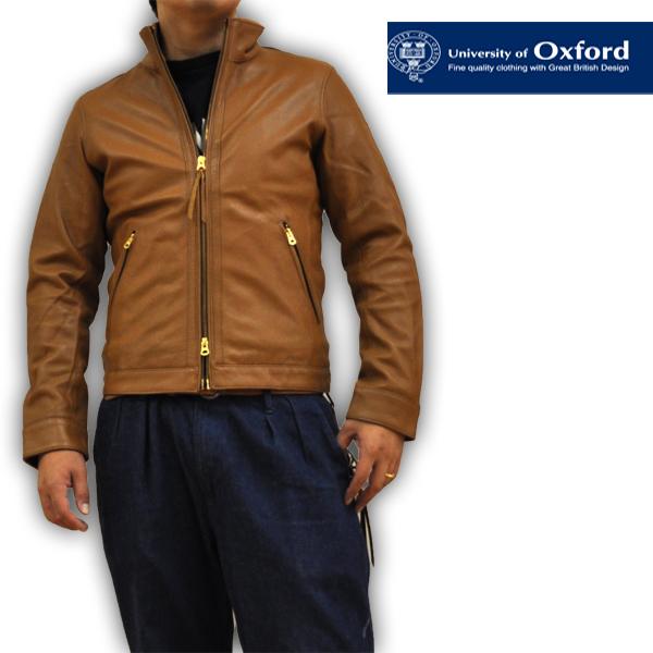 オックスフォード レザージャケット シングルライダースジャケット Oxford 0704-55400 1 メンズ