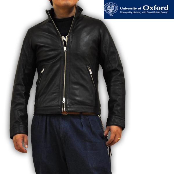 オックスフォード レザージャケット シングルライダースジャケット Oxford 0704-55400 4 メンズ