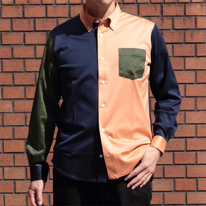 メンズ 88/2スムース 長袖ニットクレイジーシャツ 日本製(プレゼント ギフト 贈り物 シニア 紳士 男性用 40代 50代 60代)