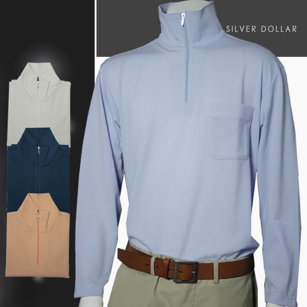 メンズ ZIPトレーナー 日本製 (父の日 プレゼント ギフト ゴルフ ゴルフウェア 贈り物 シニア 紳士 男性用 40代 50代 60代 70代)