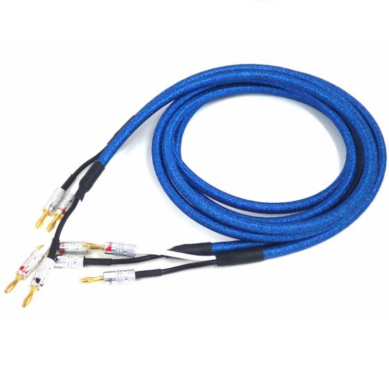 〈スピーカーケーブル〉Classy Acoustic Cable Super-high model V7 2mセット バナナプラグ付