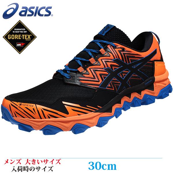 【スポーツ ランニングシューズ 30cm REGULAR メンズ ビッグサイズ】 ASICS アシックス GEL-FujiTrabuco8 G-TX (ゲル フジトラブーゴ8 ゴアテックス) 11A670-800