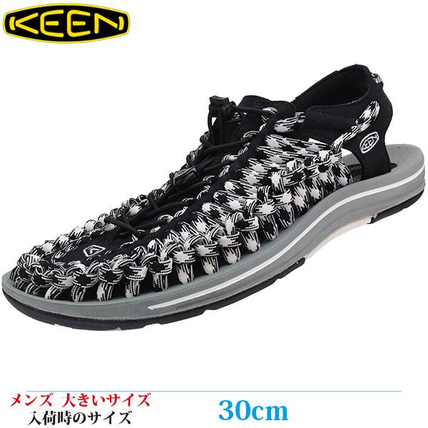 【サンダル 30cm メンズ 大きいサイズ】 KEEN UNEEK FLAT (キーン ユニーク フラット) 1020795
