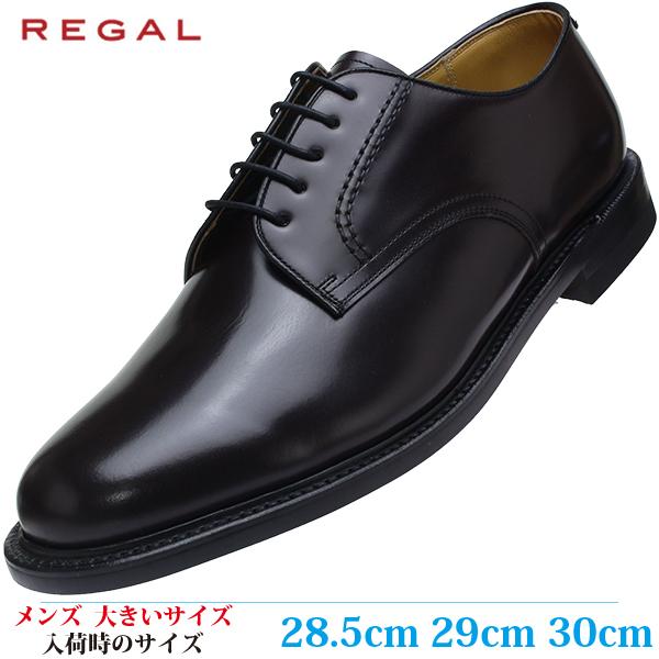 【ビジネスシューズ 紳士靴 29cm 2E メンズ ビッグサイズ】 REGAL ラウンドトゥ プレーン (リーガル 2504 BBEC) BROWN (ブラウン)