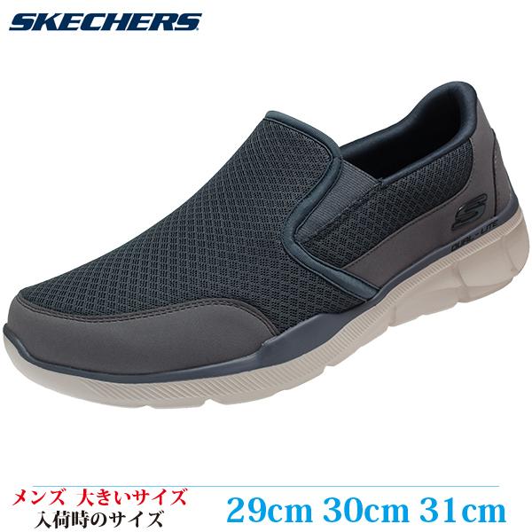 【スニーカー 29cm 30cm 31cm メンズ 大きいサイズ】 SKECHERS EQUALIZER 3.0-BLUEGATE (スケッチャーズ エコライザー 3.0 ブルーゲィート) 52984-CHAR