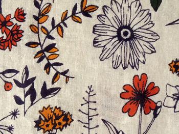 再入荷! マルチカバー 北欧 ヒュッゲ おしゃれ かわいい 長方形 花柄 アジアン イタワ織 ソナチネフラワー インド綿 ナチュラル NT ベッドカバー シングル マルチクロス横145cm 縦225cm