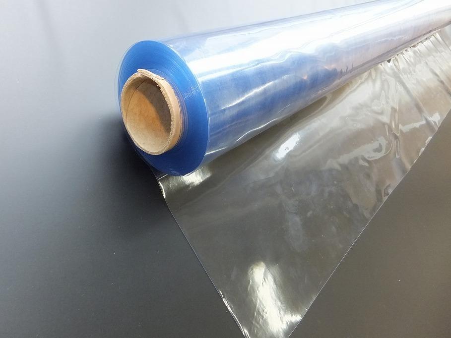 ビニールシート 透明 0.5mm×91.5cm幅×30m巻 日本ウェーブロック タフニール透明