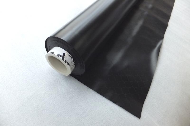 アキレスセイデンクリスタルBK(ブラック)0.3mm×137cm×30m SED-CRB