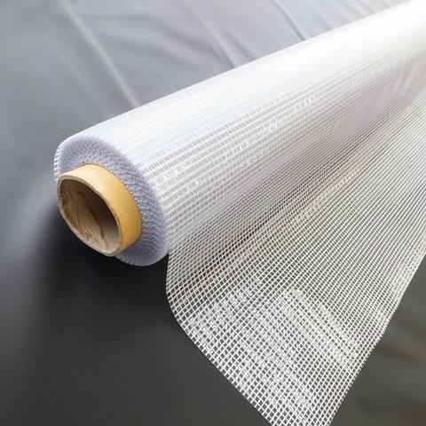 【代引不可】ハイパーカーテン 糸入透明 HCTI04203050A050.42mm×203cm幅×50m巻=1巻