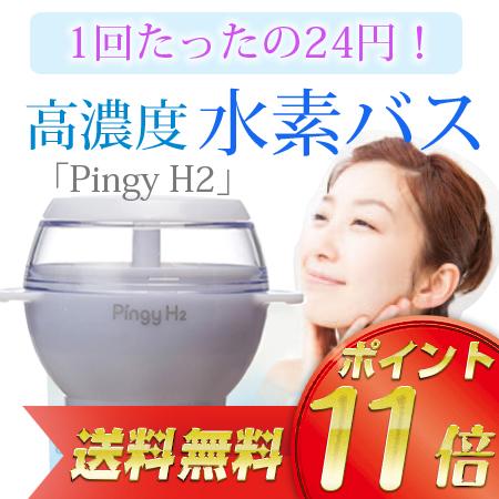 水素風呂入浴器 Pingy H2(ピンギーエイチツー)【送料無料】
