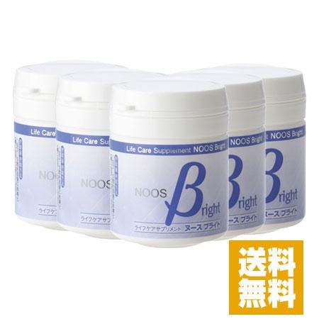 【送料無料】フェルラ酸含有サプリ ヌースブライト 90粒×5個セット★12%OFF★
