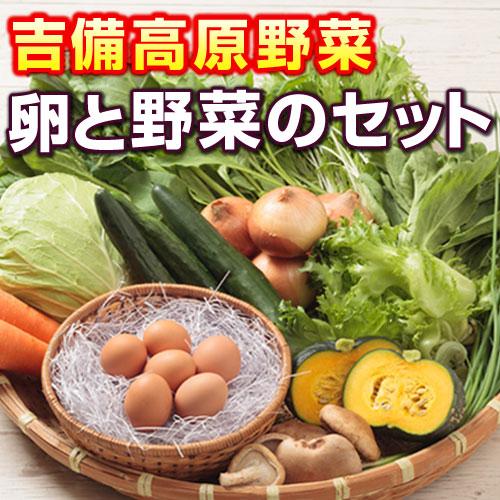 吉備高原の農家で生産されたお野菜と卵 NEW売り切れる前に☆ 吉備高原農家の野菜 卵セット 超歓迎された