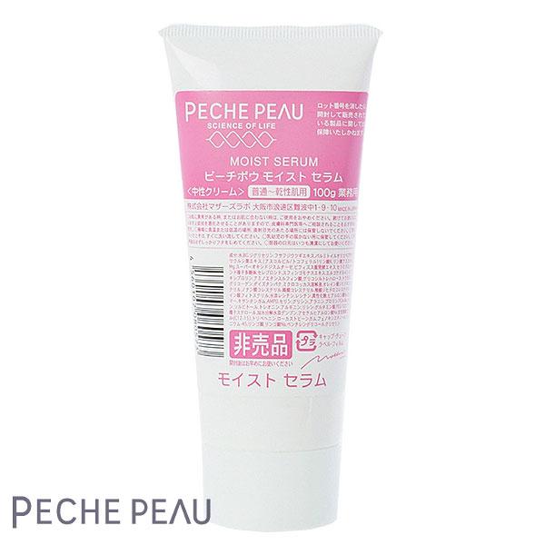 PECHE PEAU ピーチポウ モイストセラム 100g 業務用 ジェルクリーム 日本製