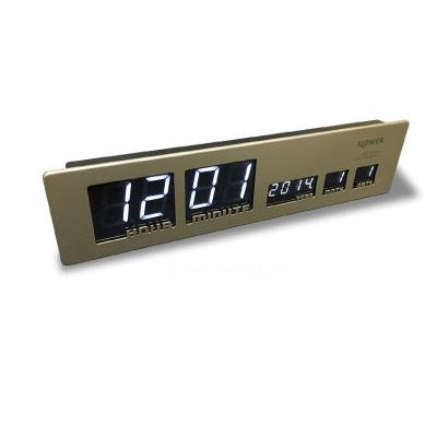 SLOWER スロウワー LEDクロック アスカリ SLW016 ゴールド Ascari 電波時計