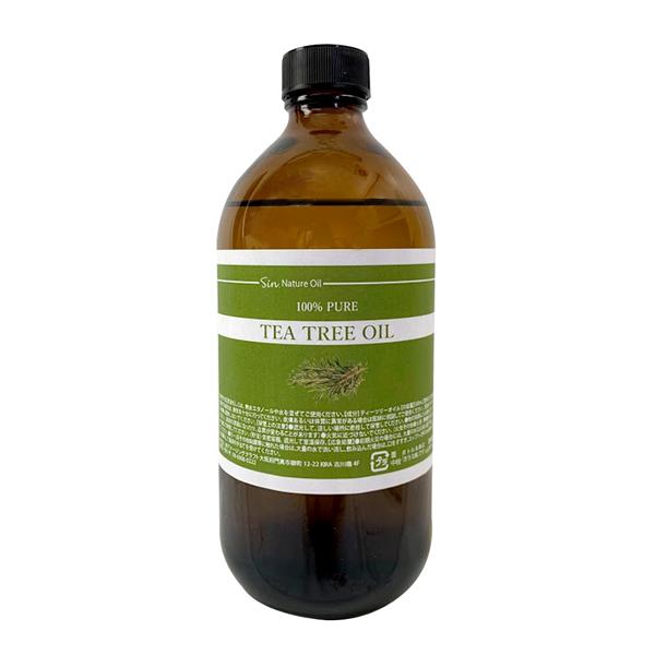 ティーツリー オイル 500ml 精油 天然100% エッセンシャルオイル ティートリー ティートゥリー アロマオイル