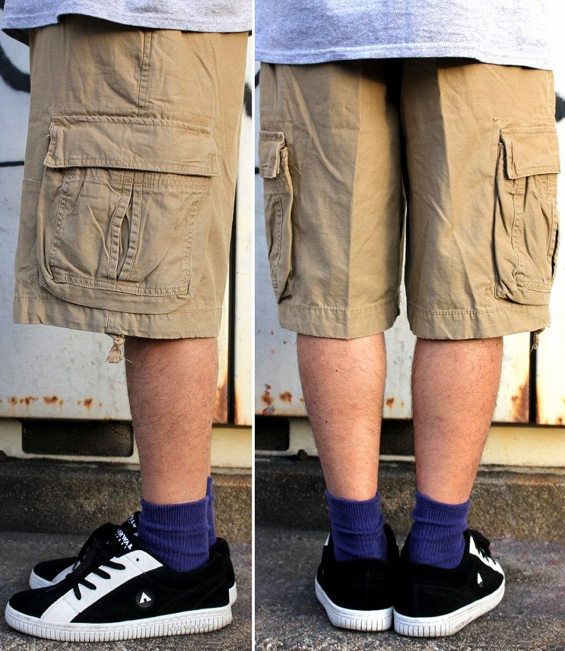 ROTHCO ロスコ6POCKET VINTAGE CARGO SHORTSカーゴショーツwashed khakiiPwkZTOXul