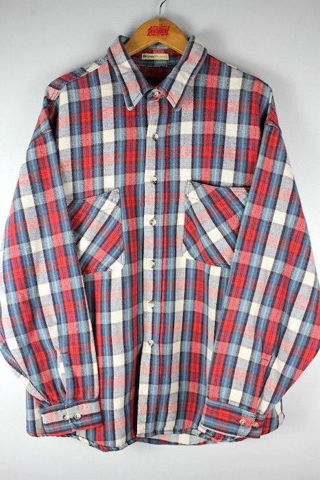 USED BIG MAC ビッグ マック お値打ち価格で PLAID FLANNEL 新色追加 SHIRTS フランネルシャツ 80'S