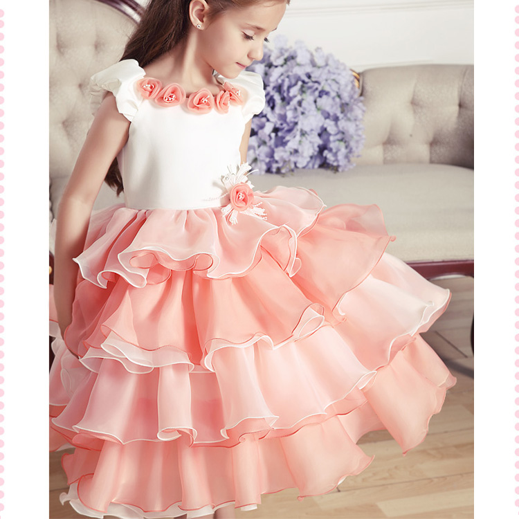 Kids Fashion Presentation Dress Children Dress Formal Dress