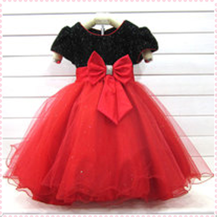 Red Wedding Dress for Girls