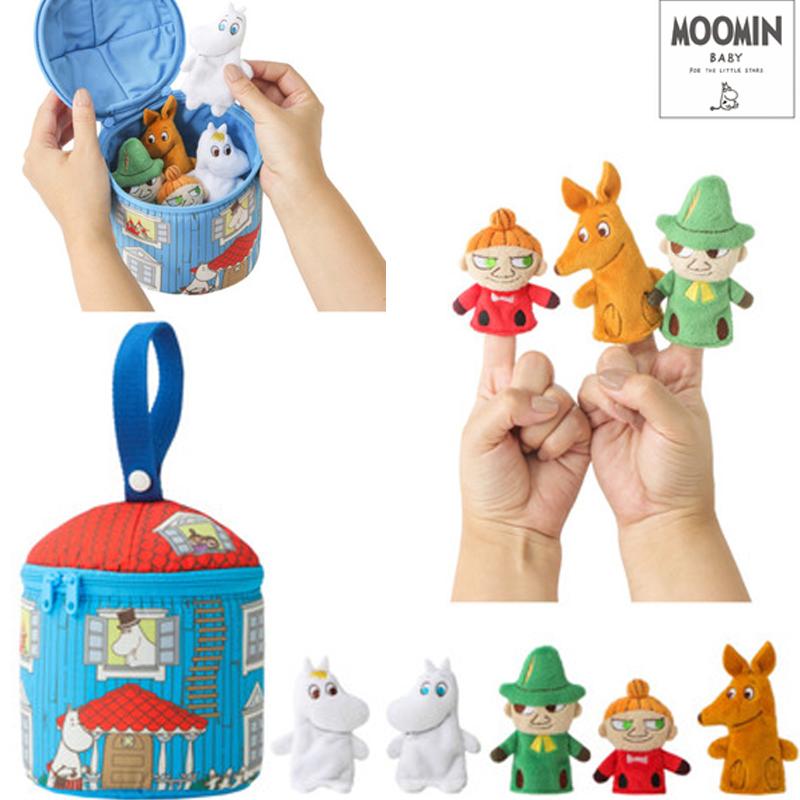 ムーミンの指人形とハウス MOOMIN BABY ムーミンベビー ゆび人形