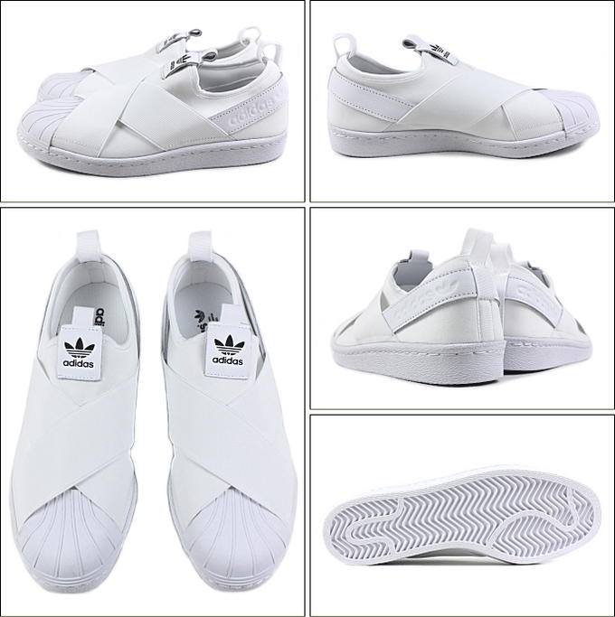 adidas Superstar Slip-On W Ftw White/ Ftw White/ Core Black