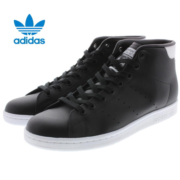 10% OFF Adidas adidas Stan Smith mid STAN SMITH MID core black / core black /FTW white S75027