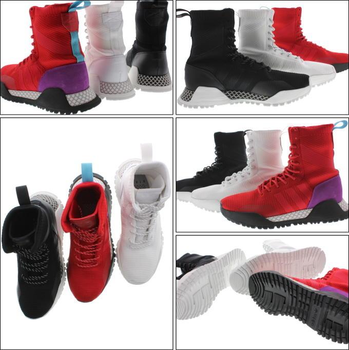 new product 1e05e 27d36 3 PK진홍색진홍색쇼크 퍼플(BZ0611) ... Phelps Georgia adidas Originals AF 1.3 Primeknit  Boots ...