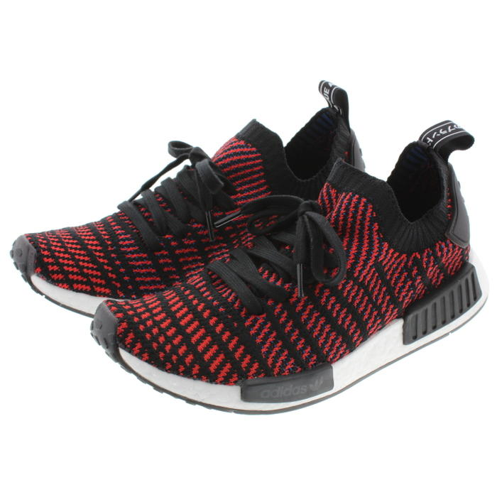 hot sale online d5d1c 21d25 It is Adidas adidas sneakers N M D are one STLT prime knit NMD_R1 STLT PK  core black / red / blue CQ2385 [during period-limited 10% OFF coupon ...