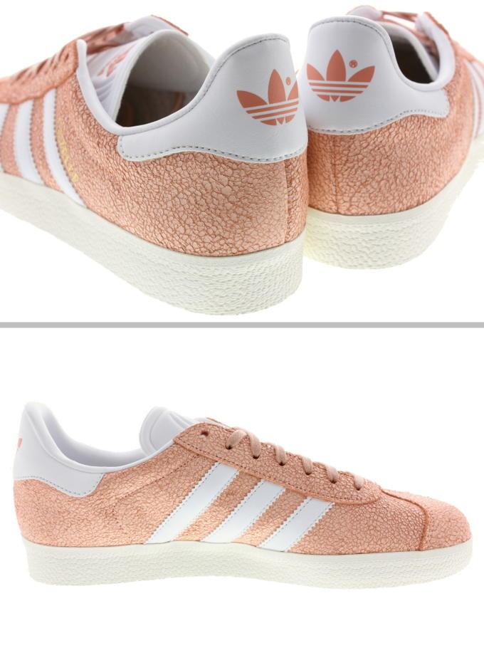 768e89e321a    Adidas adidas sneakers gazelle women GAZELLE W clear orange  FTW white    off-white AQ0904
