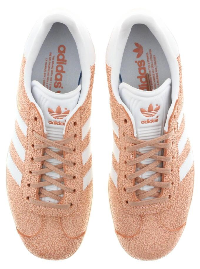 buy popular 0edbe 0fbc7  Adidas adidas sneakers gazelle women GAZELLE W clear orange FTW white   off-white AQ0904