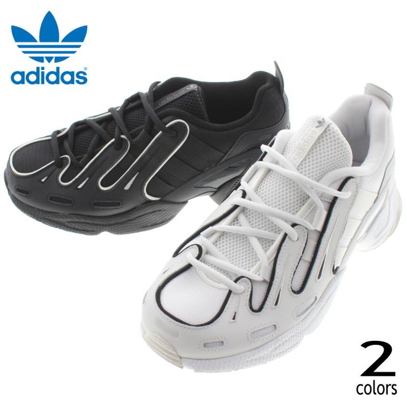 アディダス adidas スニーカー エキップメント ガゼル EQTGAZELLE クリスタルホワイト/クリスタルホワイト/コアブラック(EE7744) コアブラック/コアブラック/クリスタルホワイト(EE7745)【FNOM】