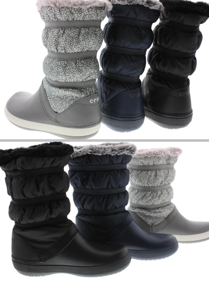 4a1a8462ca4 ... It is boots women crocband winter boot w 205314 black / black (060)  navy ...
