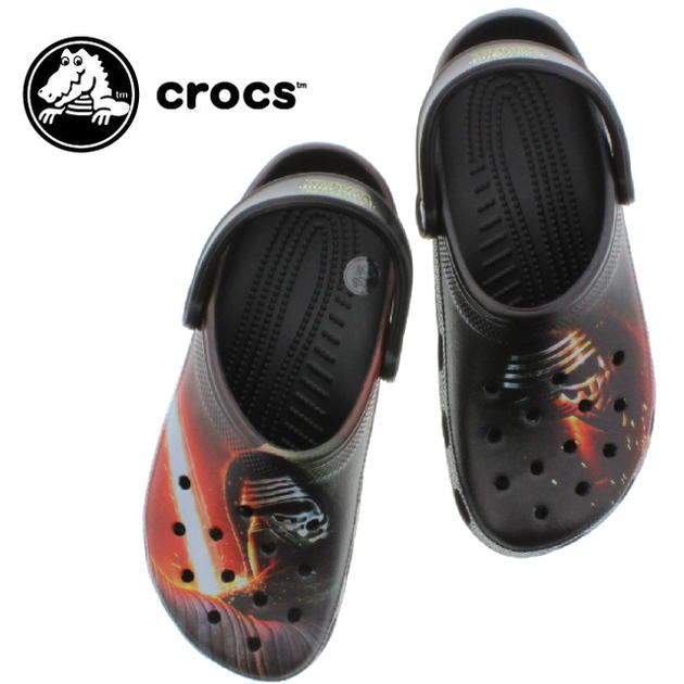 11b42cf9d Sneakersoko-kids  crocs clocks classic star wars villain clog ...