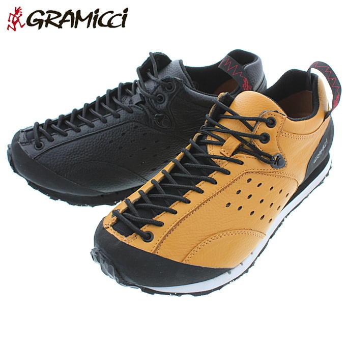 グラミチ GRAMICCI ガブロ GABBRO GR-7102 ブラックレザー ベージュレザー【FLOH】
