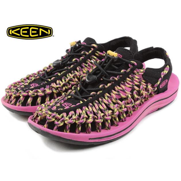 基恩KEEN Uneek独特的大丽花红紫色/温暖橄榄1013886