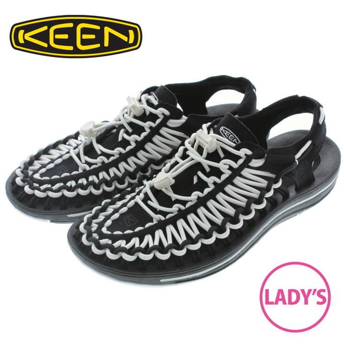 キーン KEEN レディース サンダル スニーカー ユニーク UNEEK ブラック/ホワイト 1019282【FMOI】