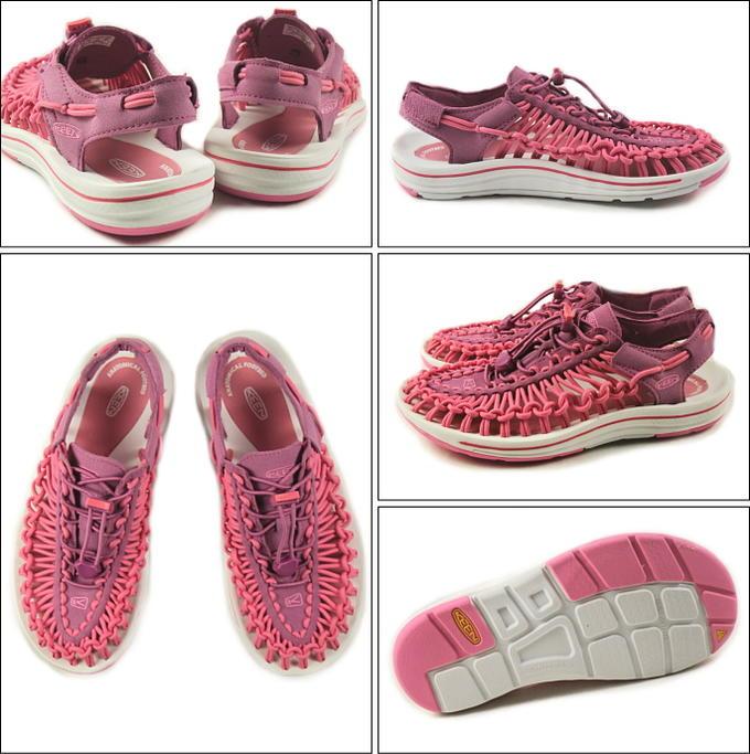 15c833e44073 Sneakersoko-kids  Kean KEEN Uneek unique dahlia mauve   camellia ...